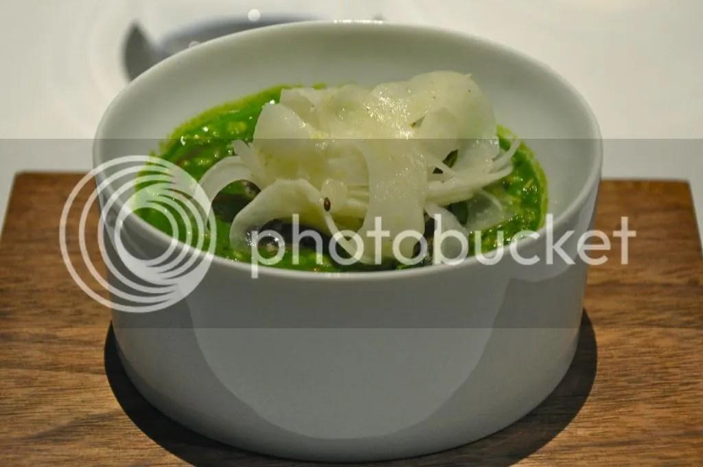 Heston Blumenthal's snail porridge