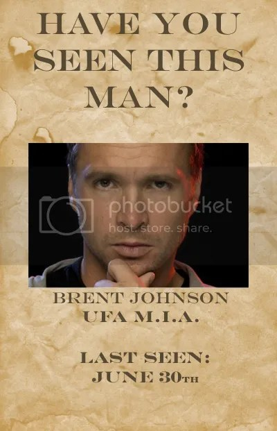 Where Are You Brent Johnson?