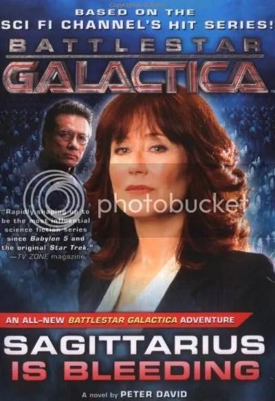Battlestar Galactica - Sagittarius is bleeding di Peter David