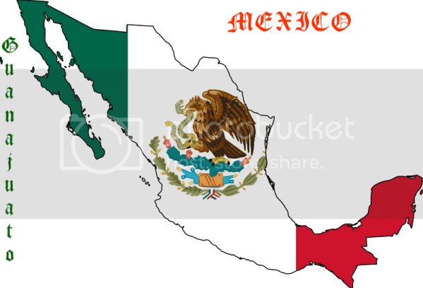 u414adad mexico map flag