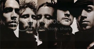 INCUBUS: Brandon Boyd, Mike Einzinger, Chris Kilmore, Jose Pasillas & Ben Kenney.