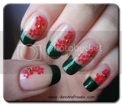 Easy Flower Nail Designs Step By