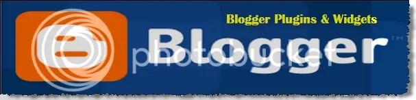 Blogger Widgets And Plugins