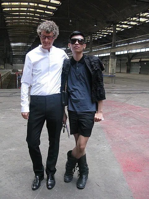 Bryanboy and Bruno Pieters