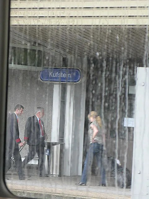 Kufstein, Austria Train Station