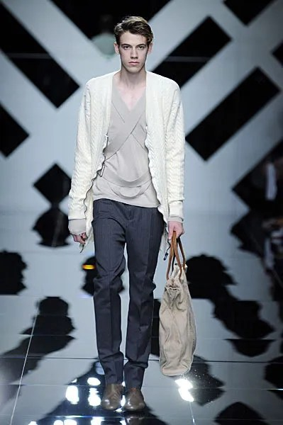 Lyle Lodwick at Burberry Spring Summer 2010 Menswear Milan