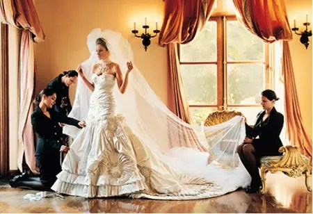 Melania Knauss Christian Dior Wedding Gown Vogue