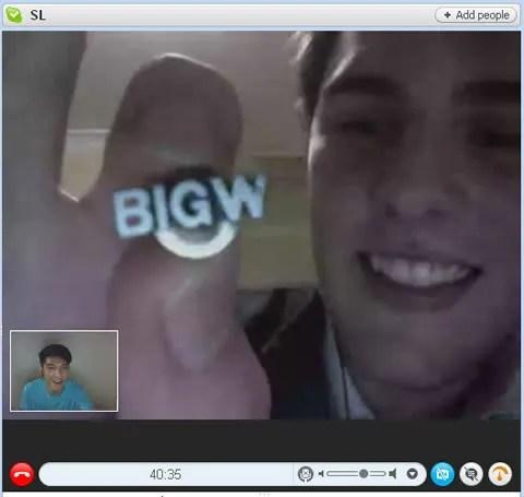 Big W pin