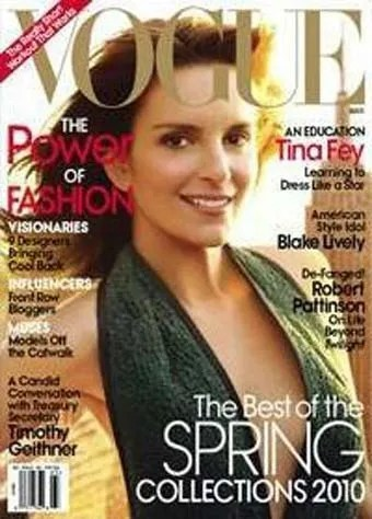 Tina Fey American Vogue cover March 2010