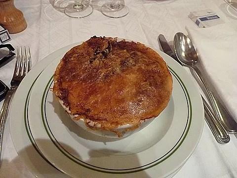 Au Pied de Cochon Paris, French Onion Soup