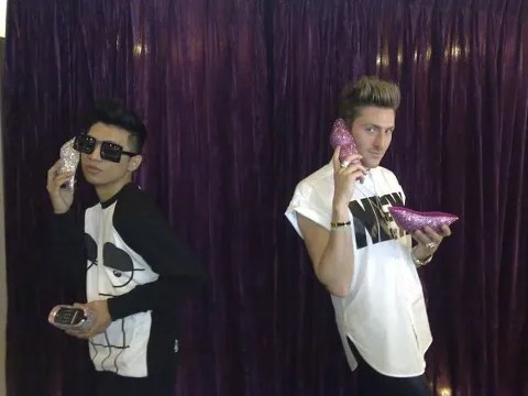 Bryanboy and Henry Holland