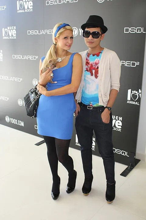 Bryanboy and Paris Hilton