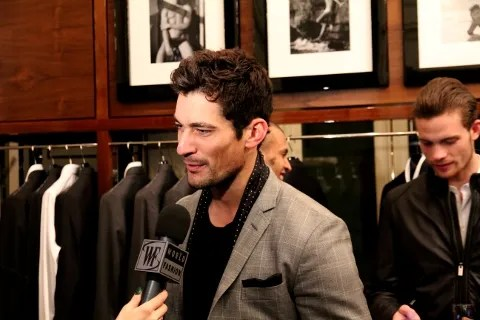 David Gandy at Dolce & Gabbana Uomini Book launch