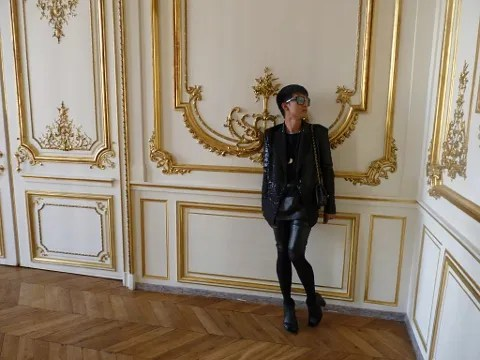 Bryanboy at Givenchy Haute Couture.