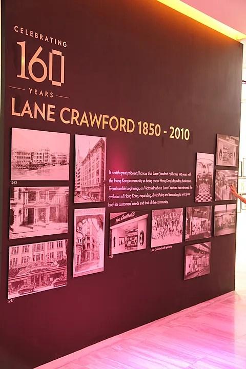Lane Crawford history
