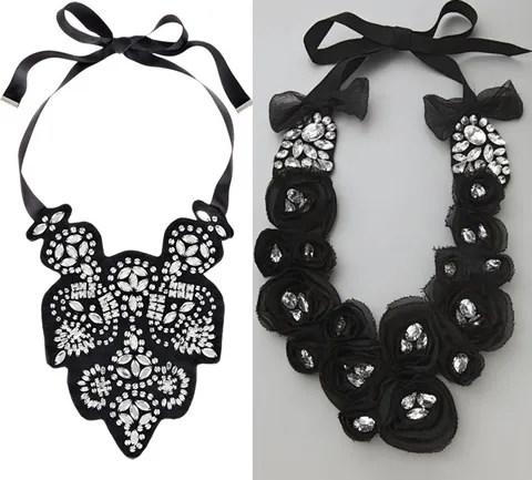 Malene Birger necklace, Adia Kibur necklace