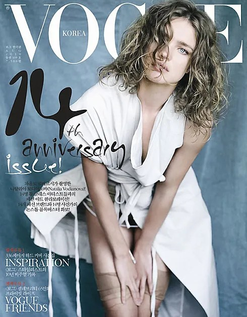Natalia Vodianova for Vogue Korea