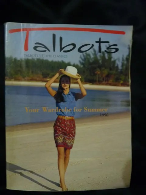 Talbots Catalog Summer 1996