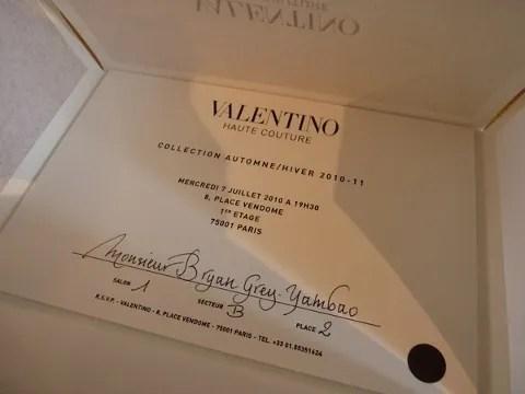 Valentino haute couture fall winter 2010
