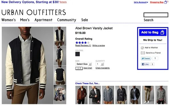 Varsity Jacket by Abel Brown at Urban Outfitters