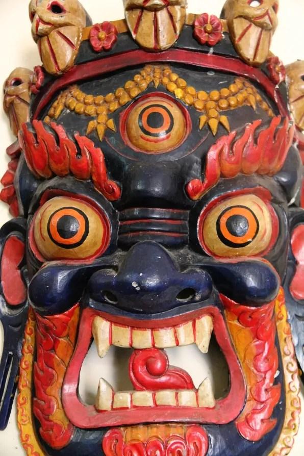 Wide-eyed mask