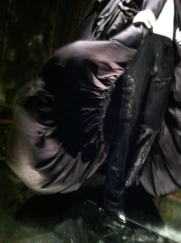 Alexander McQueen Savage Beauty exhibit - parachute silk dress