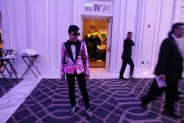 Bryanboy at AAFA American Image Awards 2011