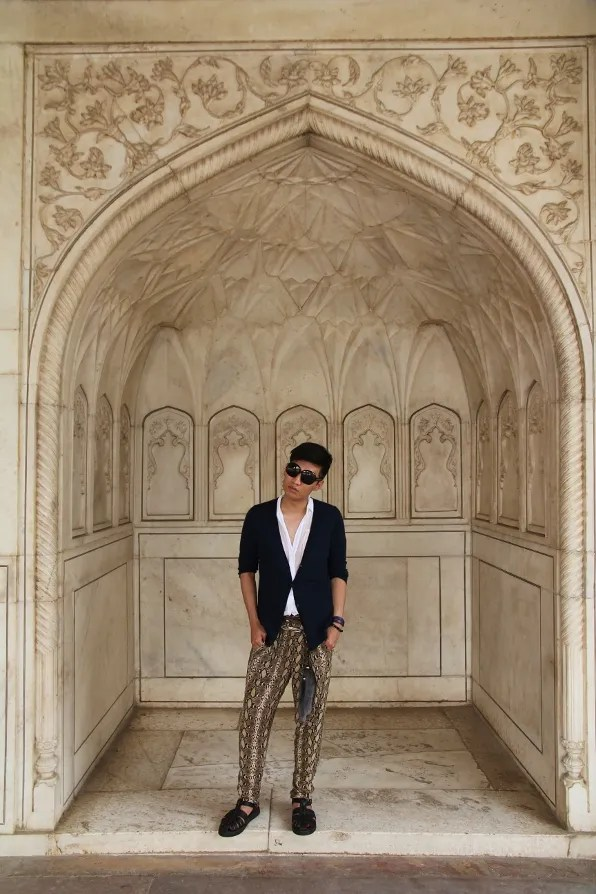 India Golden Triangle Tour - Bryanboy in Agra Fort in Agra