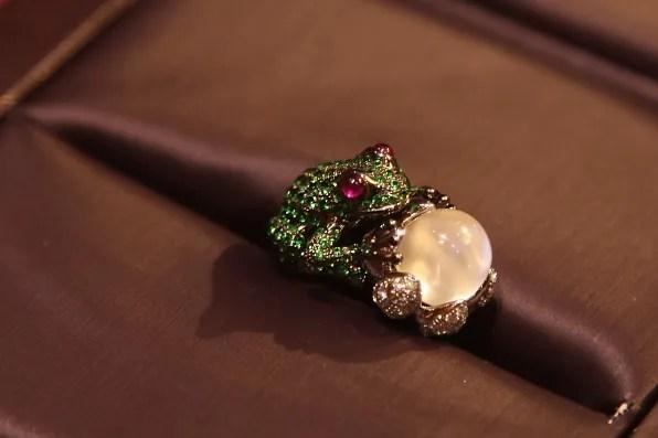 Boucheron Bague Grenouille ring