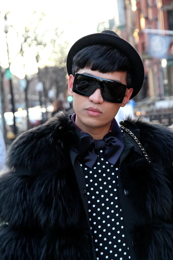 Bryanboy in Boston wearing Dolce & Gabbana