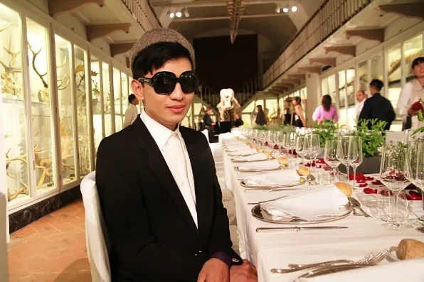 Bryanboy at the Luisa Via Roma Firenze4Ever dinner