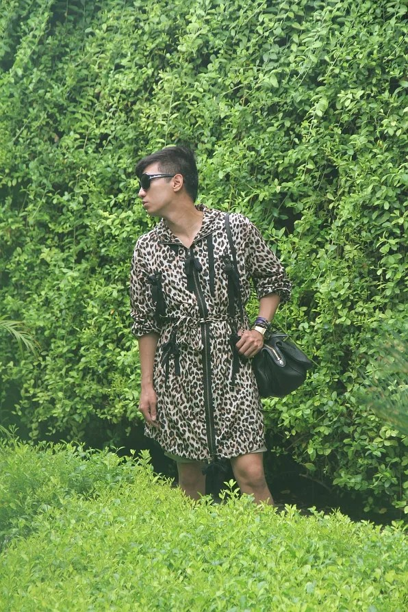Bryanboy at The Manor hotel, New Delhi, India