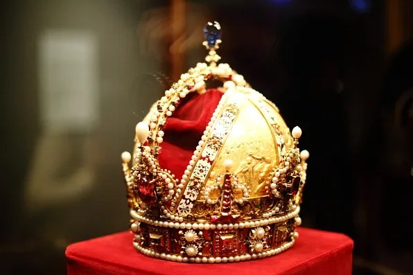 The Crown of Rudolf II also known as The Crown of the Austrian Empire