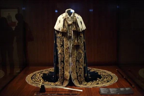 Coronation Robe of the Kingdom of Lombardy-Venetia designed by Philipp von Stubenrauch