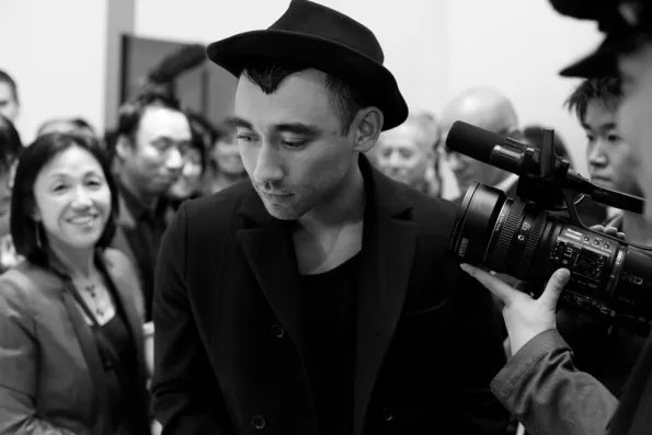 Nicola Formichetti at Christian Dior Tokyo