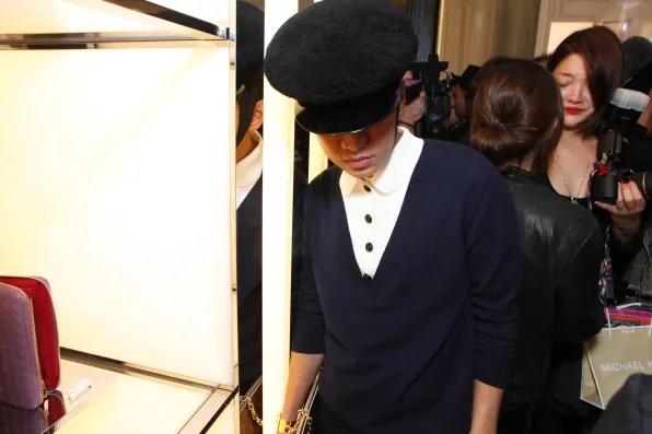 Bryanboy at Christian Dior, Tokyo