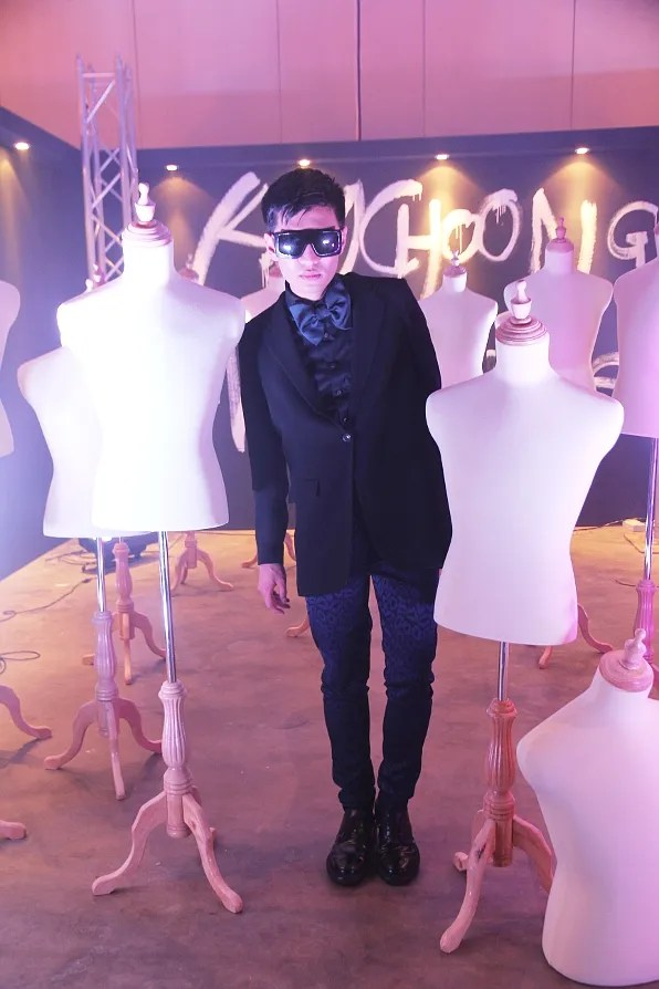 Bryanboy wearing a Filippa K jacket and Whyred pants