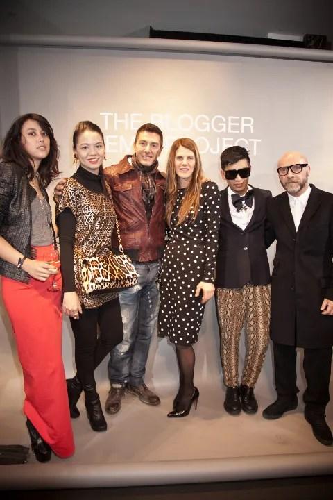 Dolce & Gabbana Blogger Windows