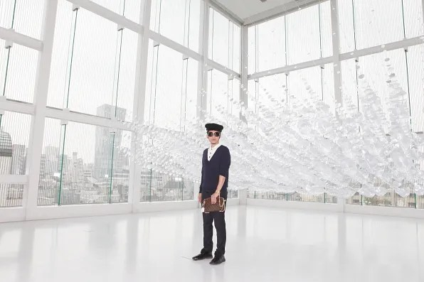 Bryanboy at the Espace Louis Vuitton Tokyo