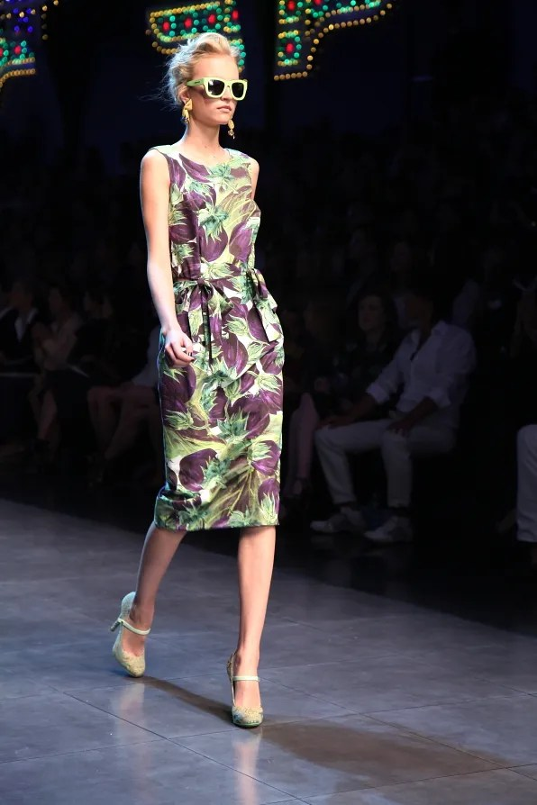 First Look - Dolce & Gabbana Fashion Show Spring Summer 2012