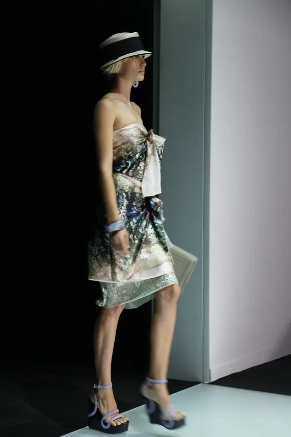 First Look - Emporio Armani Spring Summer 2012 - Look 2