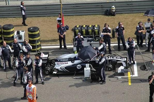 A car at Formula 1 Shanghai