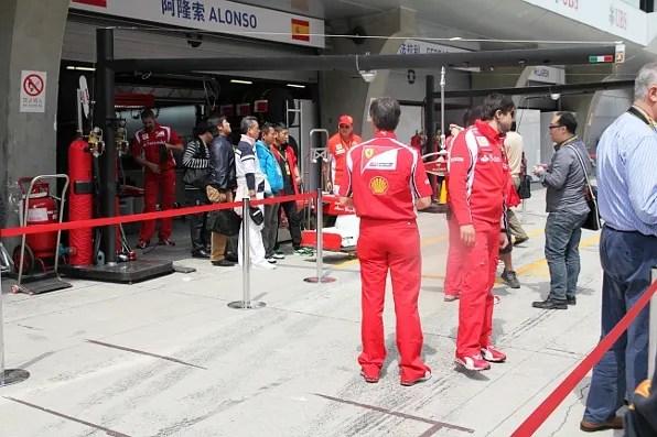 Team Alonso at Formula 1 Shanghai