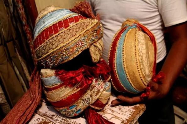 Male wedding turbans