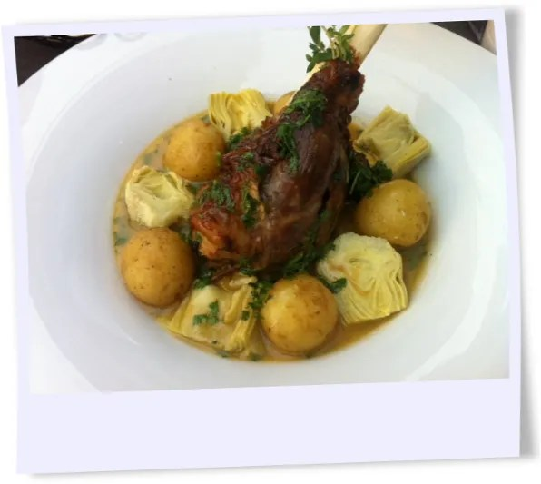 Danish lamb for lunch