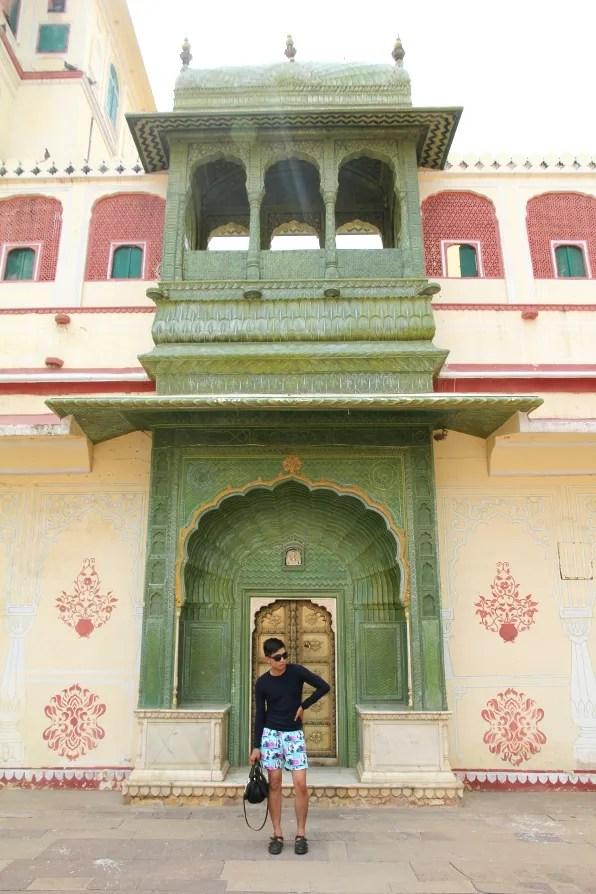 Bryanboy at City Palace, Jaipur