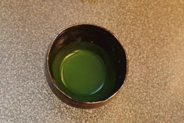 Koicha tea from CHA Ginza, Tokyo