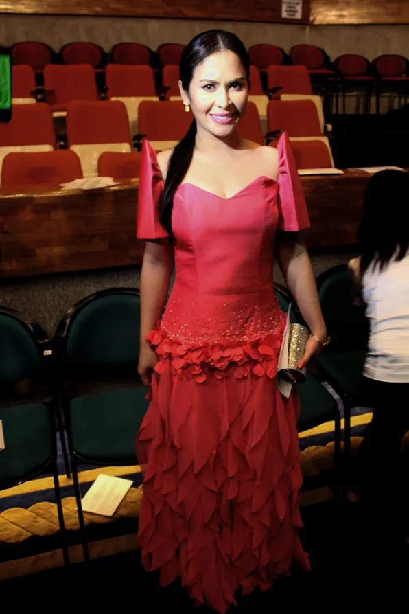 Jinkee Pacquiao in Martin Bautista at SONA 2011