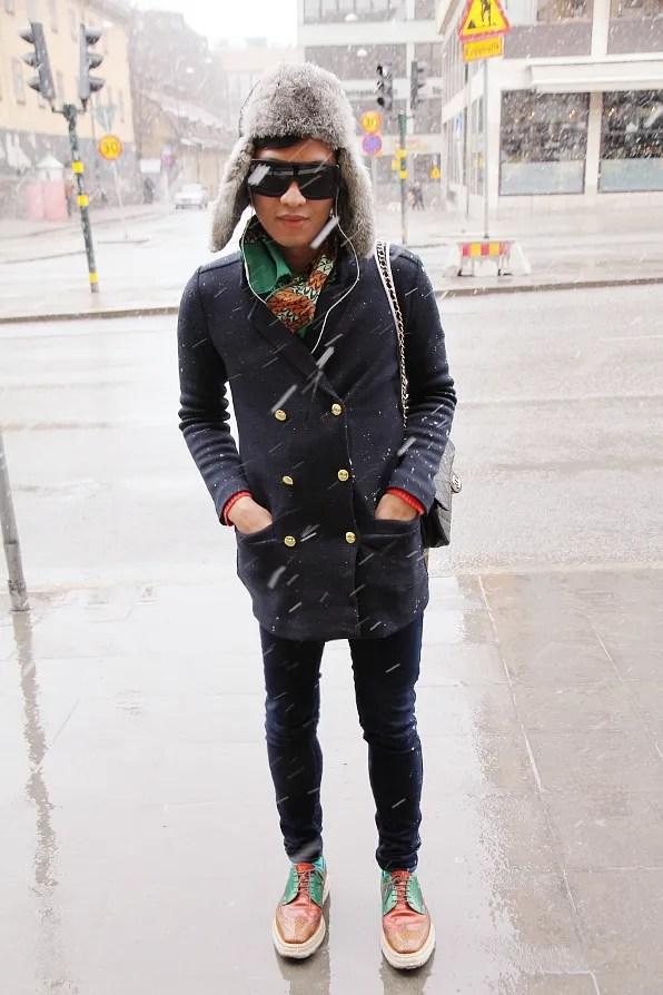 Bryanboy's last day in Snowy Stockholm