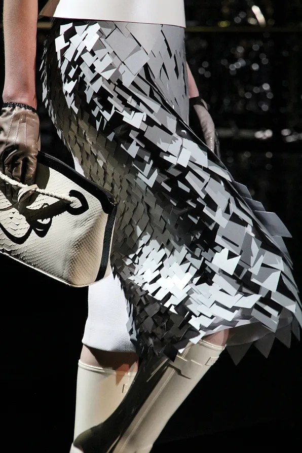 Louis Vuitton skirt from fall winter 2011 collection